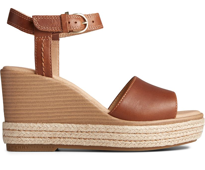 Fairwater PLUSHWAVE Wedge Sandal, Tan, dynamic