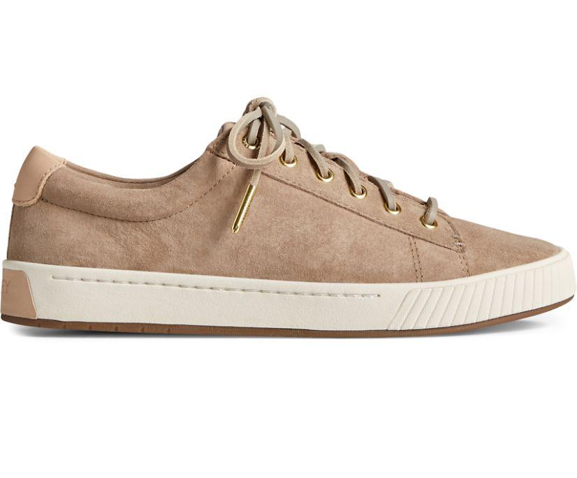 Anchor PLUSHWAVE LTT Leather Sneaker, Beige, dynamic