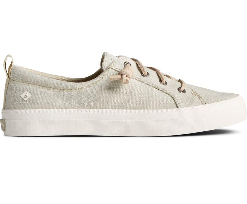 Crest Vibe Textured Denim Sneaker, Cement, dynamic