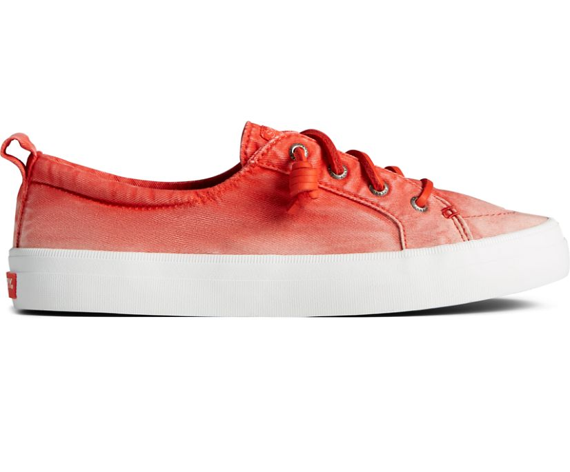Crest Vibe Ombre Sneaker, Red, dynamic