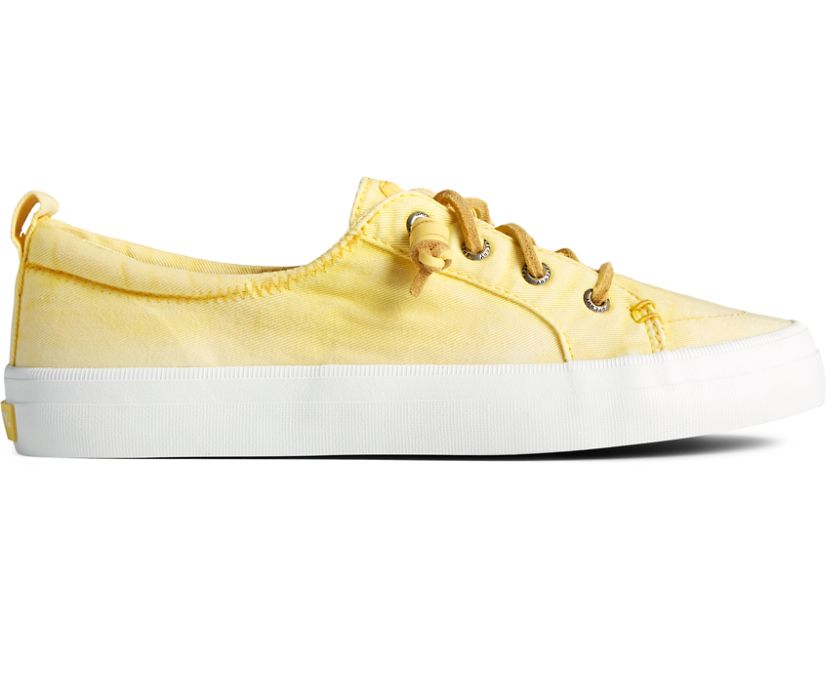 Crest Vibe Platform Ombre Sneaker, Yellow, dynamic
