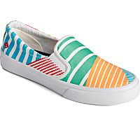 Deals on Crest Twin Gore Twisted Textile Slip On Womens Sneaker