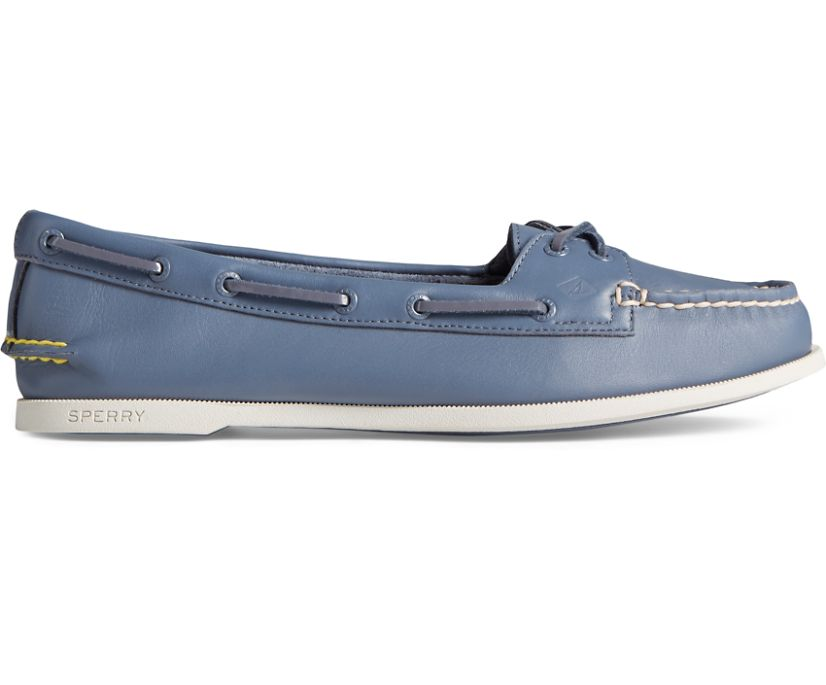 Authentic Original Skimmer Boat Shoe, Grey, dynamic