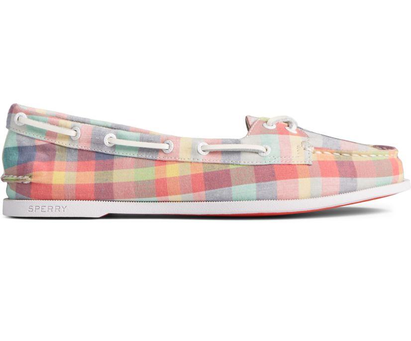 Authentic Original Skimmer Plaid Boat Shoe, Multi, dynamic