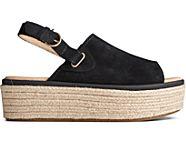 Delmare PLUSHWAVE Platform Sandal, Black, dynamic