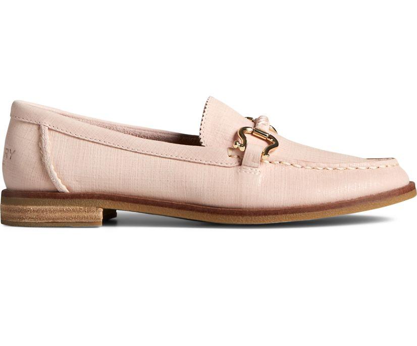 Seaport Penny PLUSHWAVE Shackle Leather Loafer, Rose, dynamic