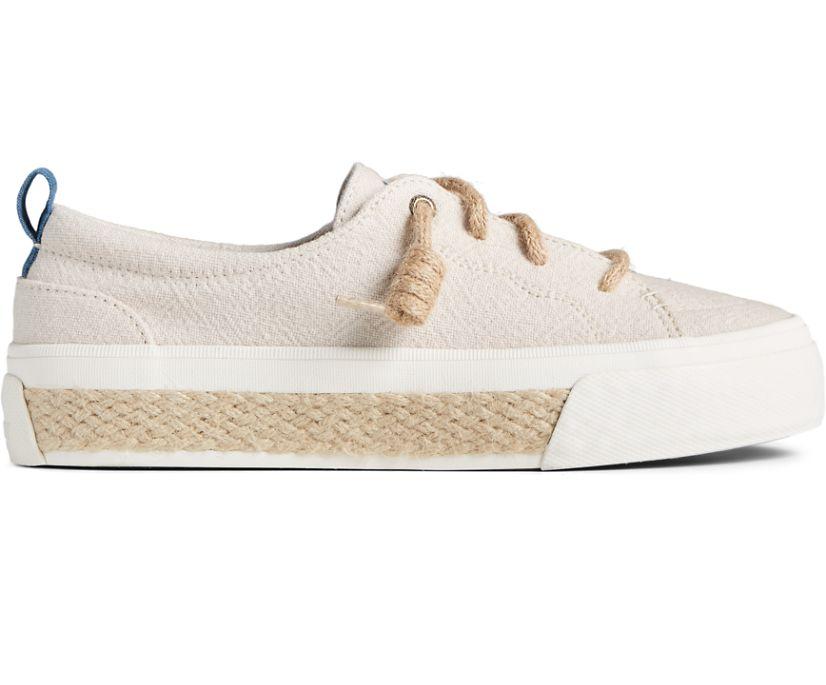 Crest Vibe Platform Resort Sneaker, Off White, dynamic