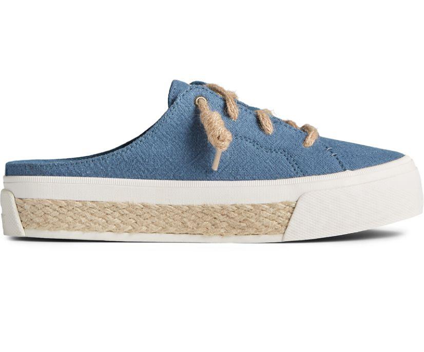 Crest Vibe Platform Resort Mule Sneaker, Navy, dynamic