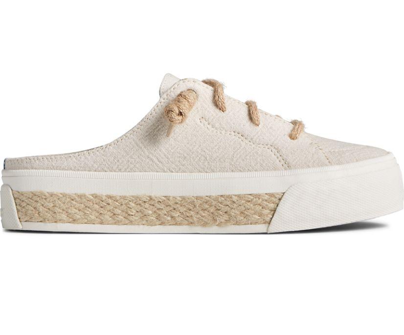 Crest Vibe Platform Resort Mule Sneaker, Off White, dynamic