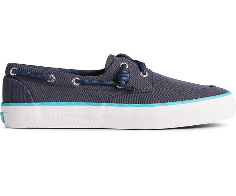 Crest Boat SeaCycled Sneaker, Navy/Blue, dynamic