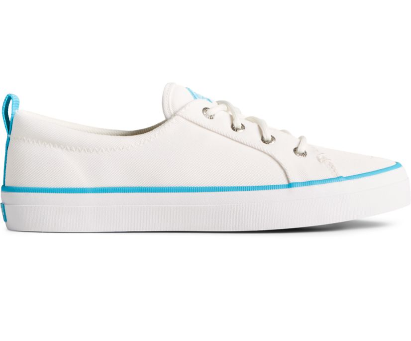 Crest Vibe SeaCycled Sneaker, White/Blue, dynamic