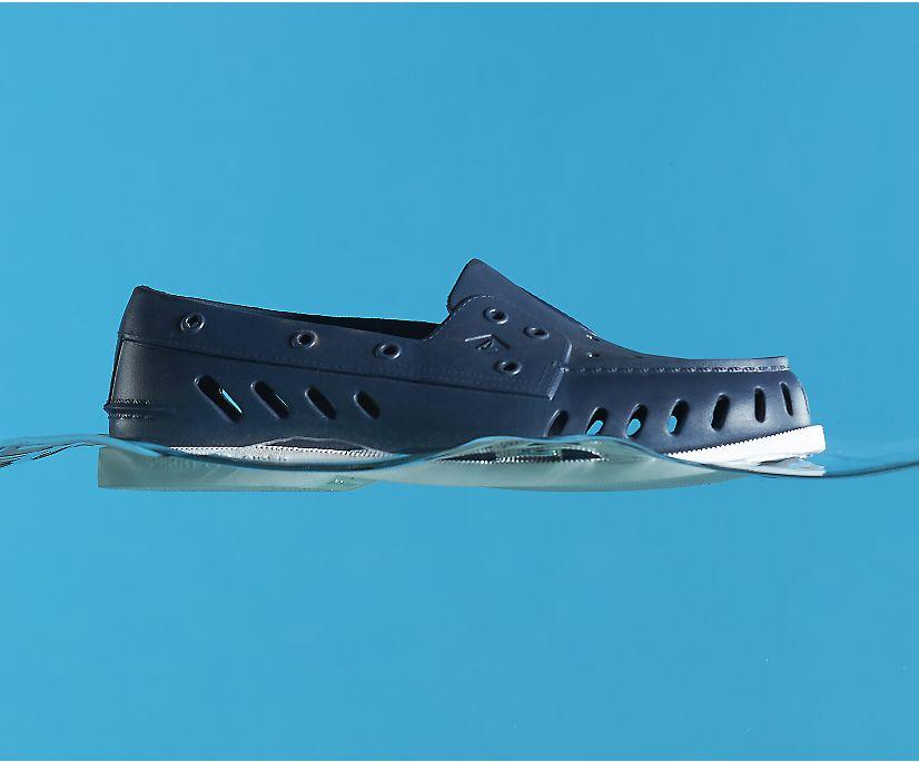 Authentic Original Float Boat Shoe, Navy, dynamic