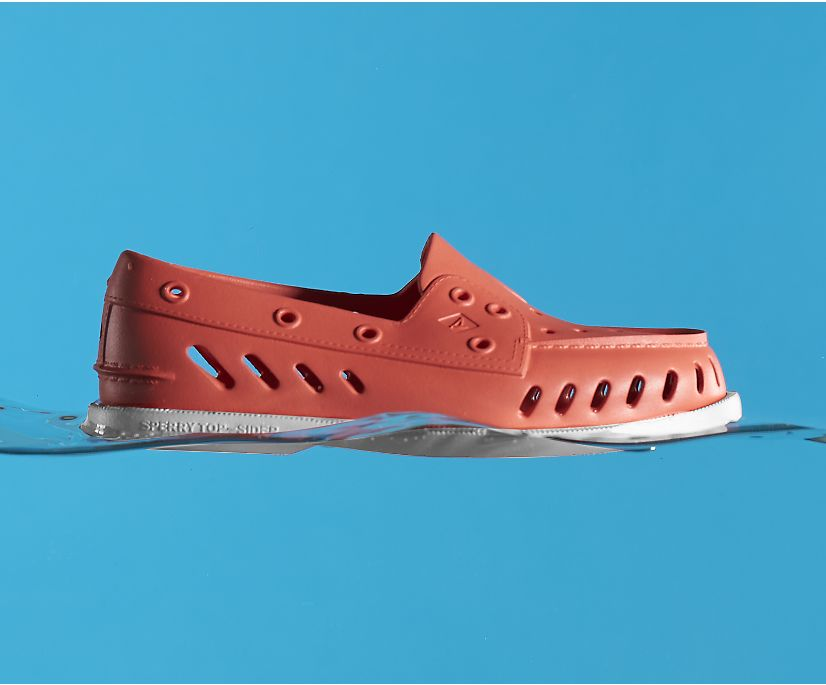 Authentic Original Float Boat Shoe, Red, dynamic