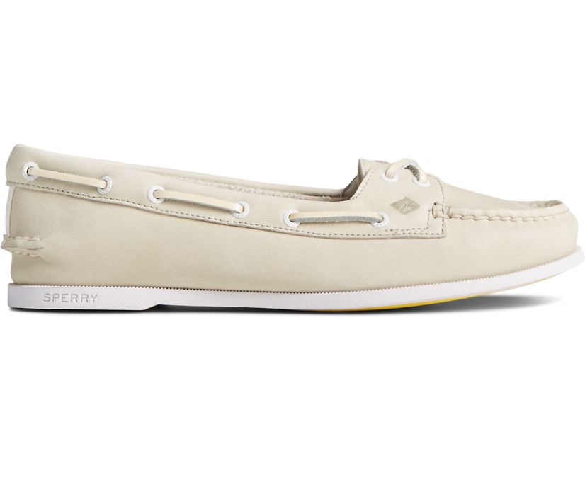 Authentic Original Skimmer Boat Shoe, White, dynamic