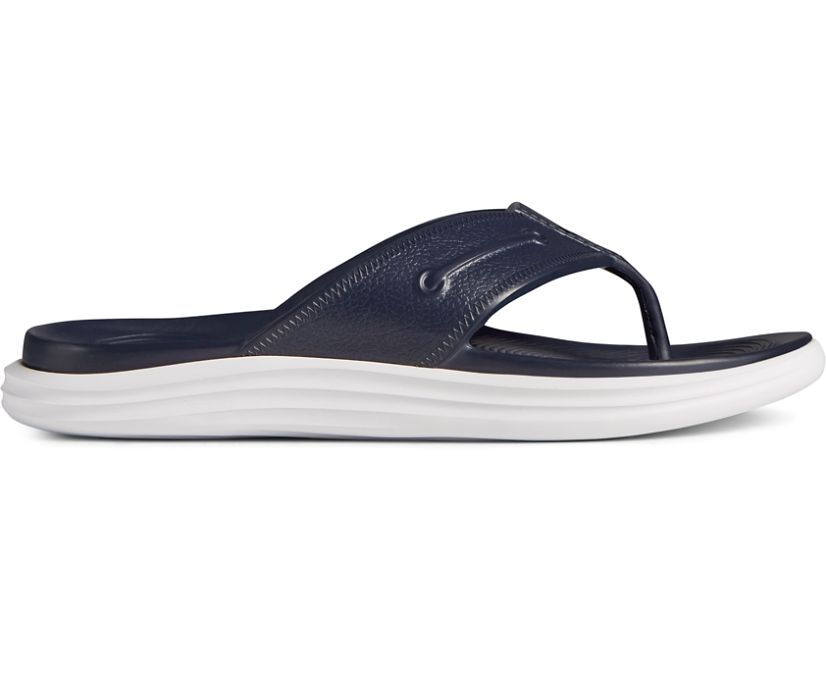 Windward Float Flip Flop, Navy, dynamic