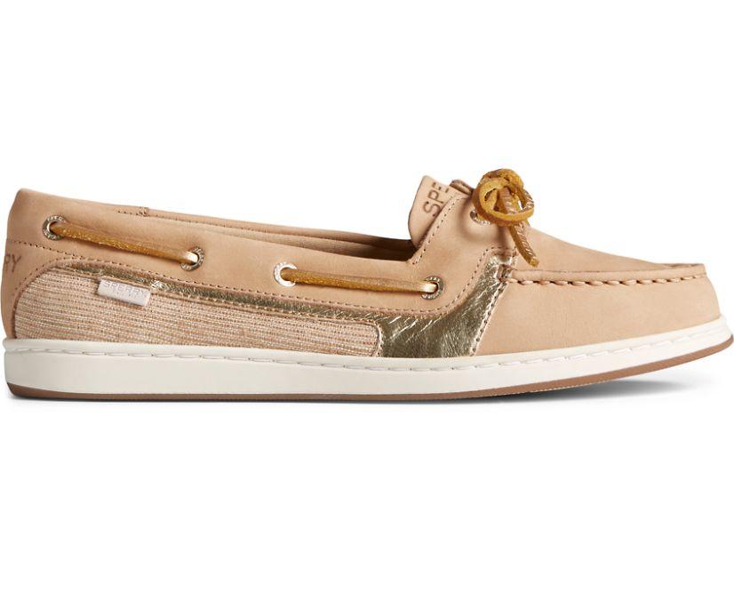 Starfish Boat Shoe, Tan, dynamic