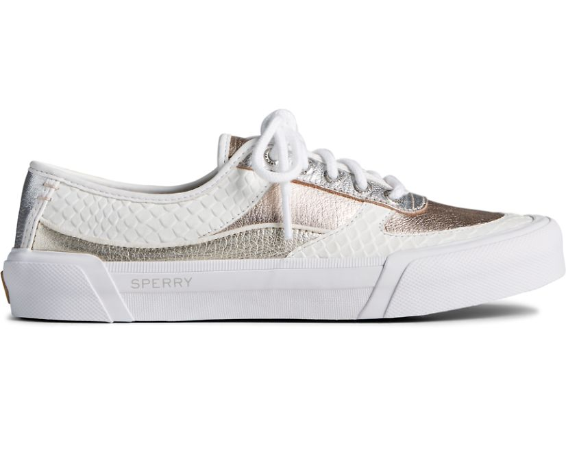 Soletide Sneaker, White, dynamic