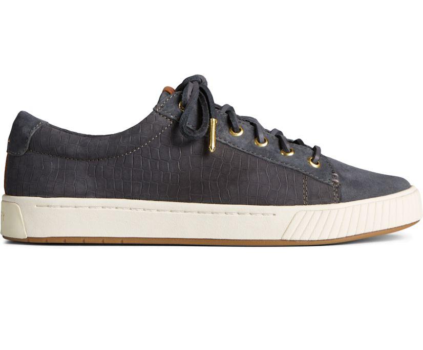 Anchor PLUSHWAVE Croc Leather Sneaker, Grey, dynamic