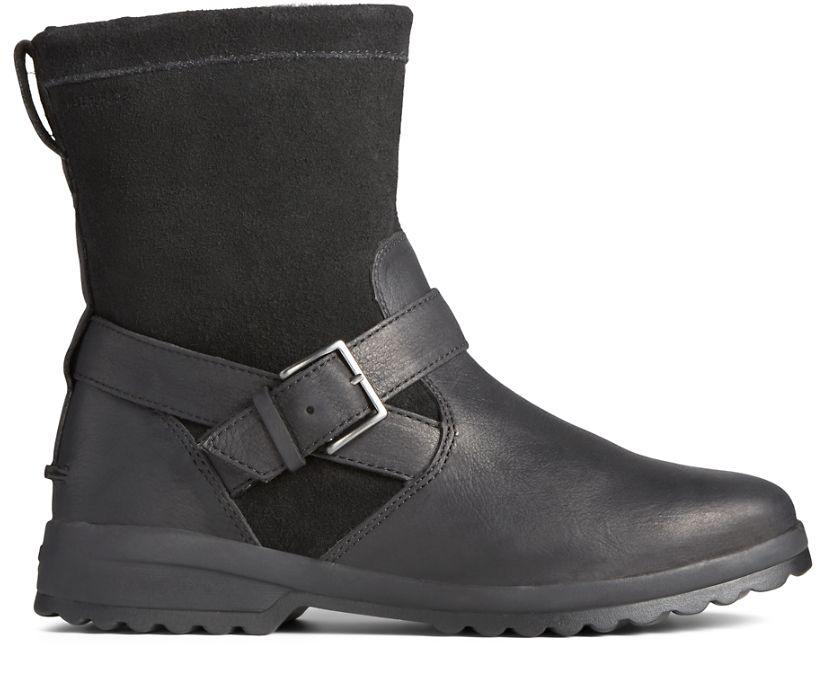 Maritime Step In Boot, Black, dynamic