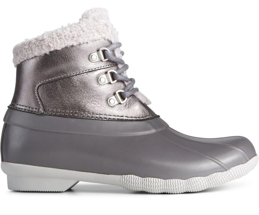 Saltwater Alpine Duck Boot, Grey, dynamic