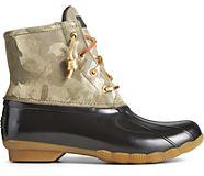 Saltwater Metallic Camo Duck Boot, Olive, dynamic