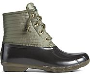 Saltwater Puff Nylon Quilted Duck Boot, Olive, dynamic