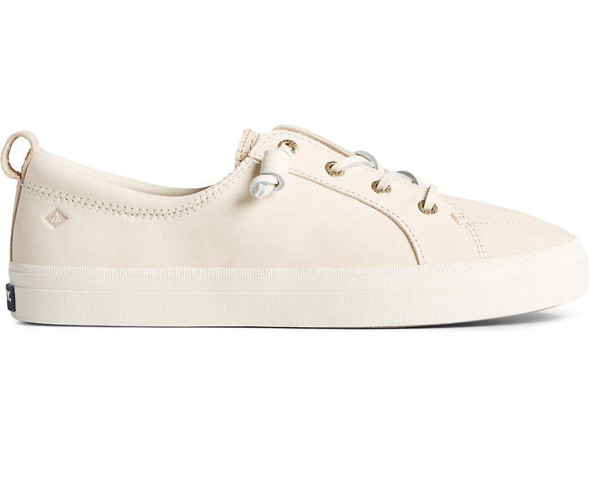 Crest Vibe PLUSHWAVE Snake Nubuck Sneaker, Ivory, dynamic