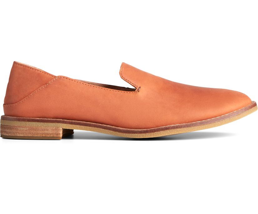 Seaport Levy Leather Loafer, Tan, dynamic