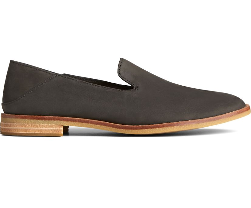 Seaport Levy Leather Loafer, Black, dynamic