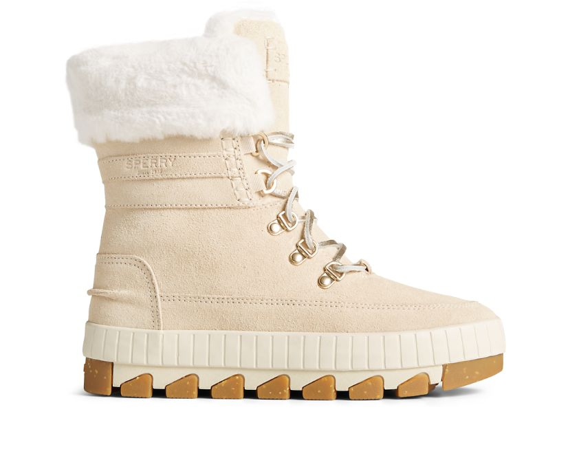 Torrent Lace Up Boot, Ivory, dynamic