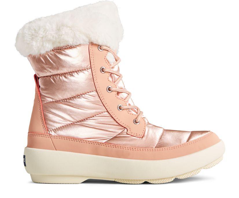 Bearing PLUSHWAVE Shimmer Nylon Boot, Rose Gold, dynamic