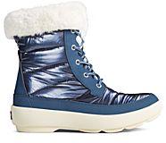 Bearing PLUSHWAVE Shimmer Nylon Boot, Navy, dynamic
