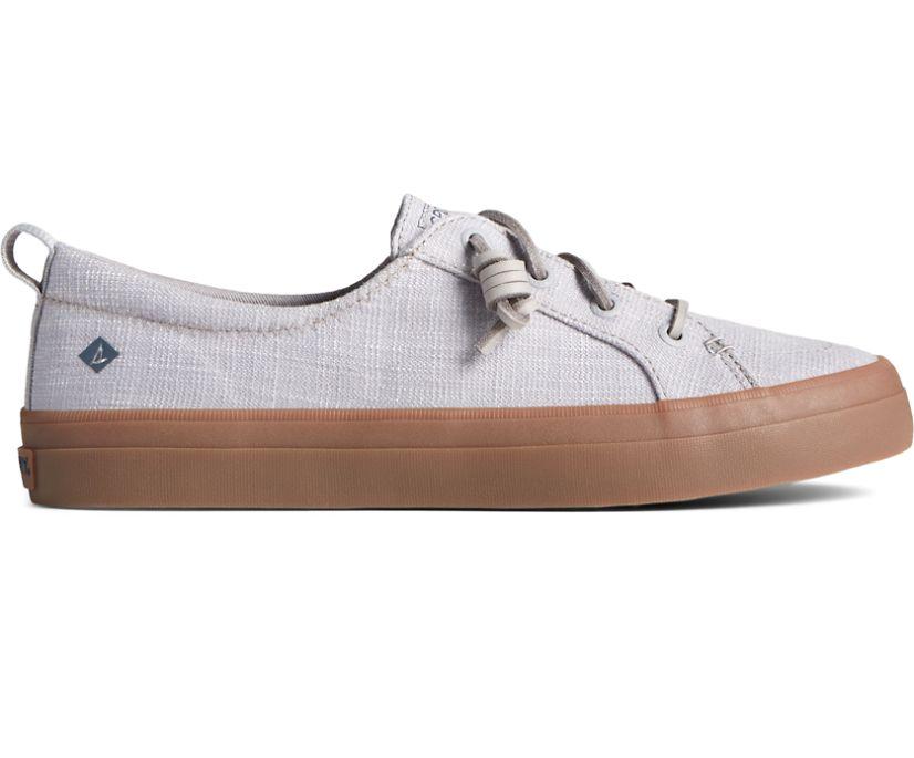 Crest Vibe Textile Gum Sole Sneaker, Grey, dynamic