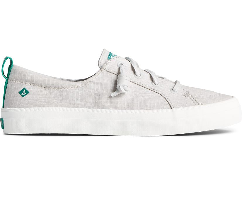 Crest Vibe Cotton Ripstop Sneaker, Grey, dynamic