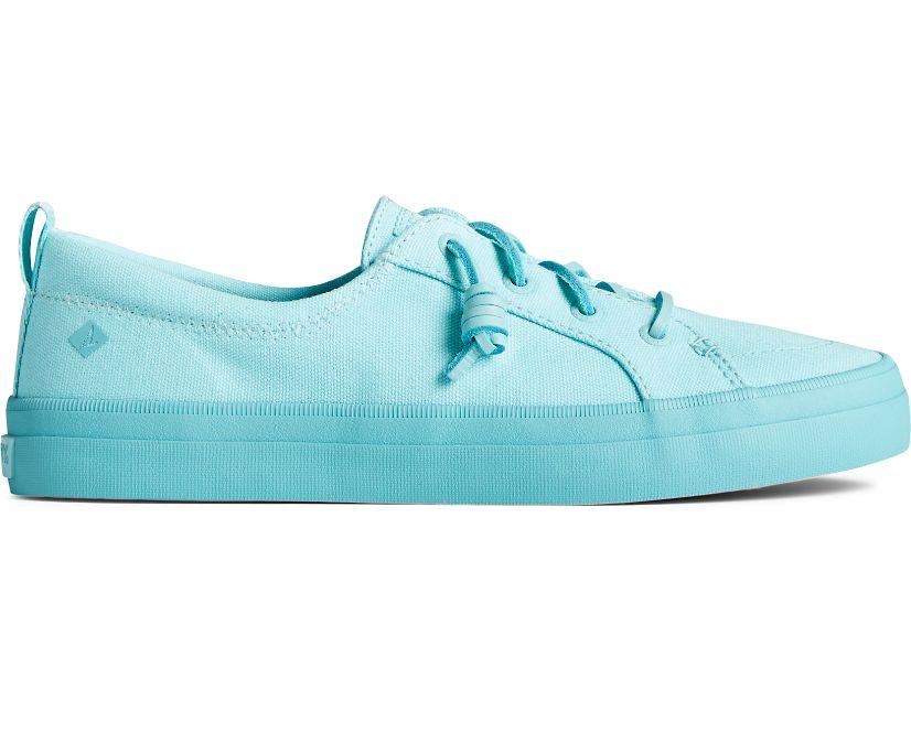 Crest Vibe Pastel Textile Sneaker, Blue, dynamic