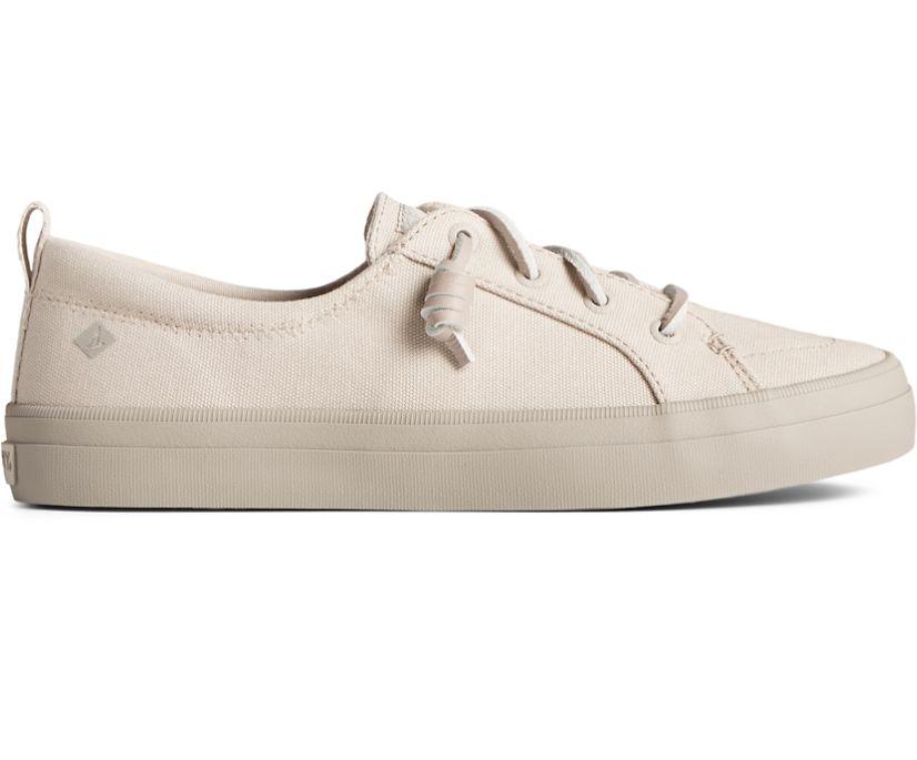 Crest Vibe Pastel Textile Sneaker, Grey, dynamic