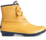 Saltwater Puff Nylon Quilted Duck Boot, Yellow, dynamic