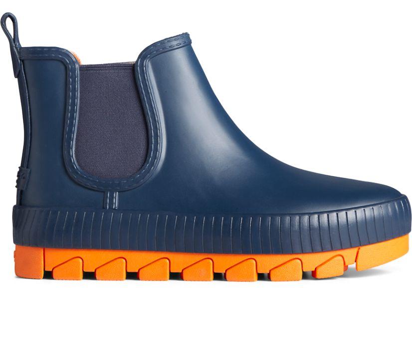 Torrent Pop Chelsea Rain Boot, Navy/Orage, dynamic