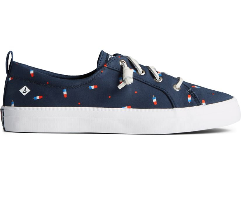 Sperry x Popsicle® Firecracker® Crest Vibe Sneaker, Navy, dynamic