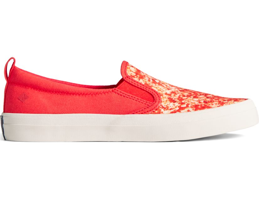Sperry x Good Humor® Strawberry Shortcake Crest Twin Gore Sneaker, Red Shortcake, dynamic