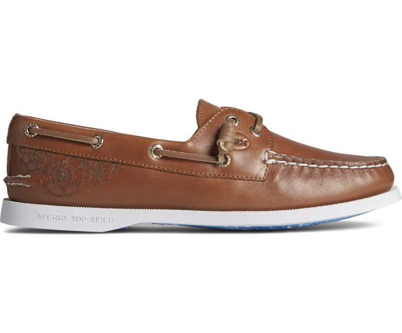 Sperry x OBX Authentic Original Vida Boat Shoe, Tan, dynamic