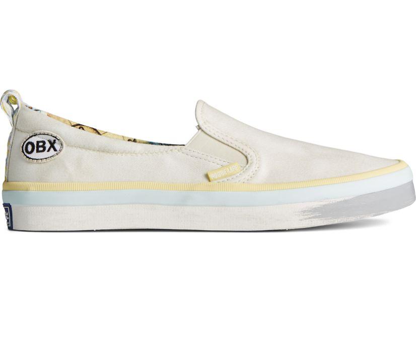 Sperry x OBX Crest Twin Gore Slip On Sneaker, Tan, dynamic
