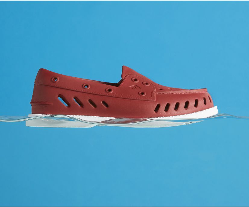Authentic Original Float Boat Shoe, Persian Red, dynamic