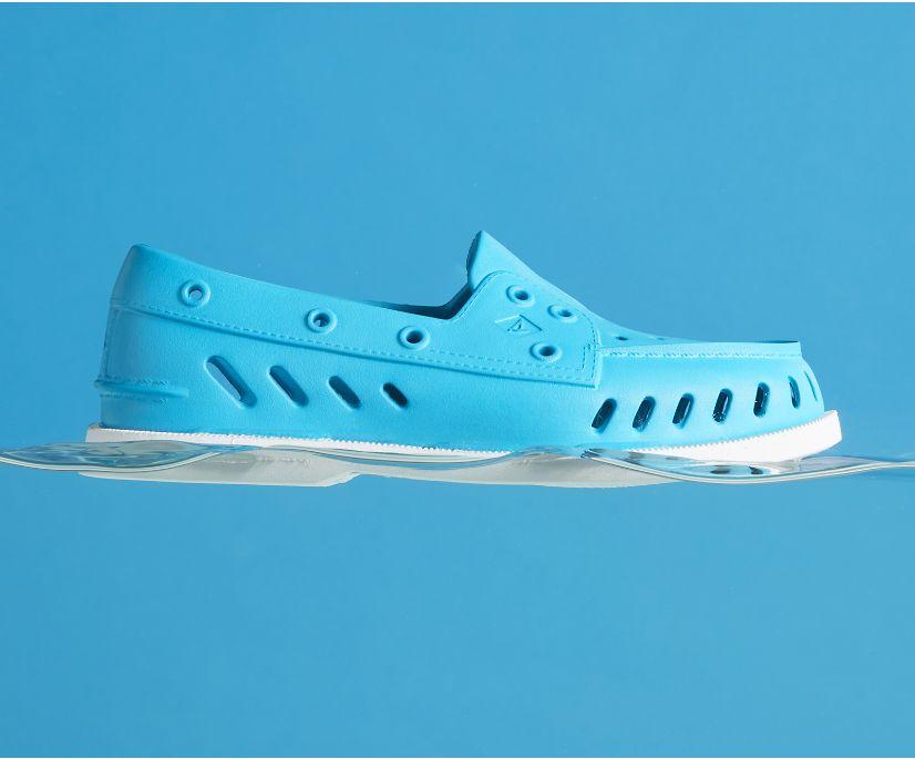 Authentic Original Float Boat Shoe, Caneel Blue, dynamic