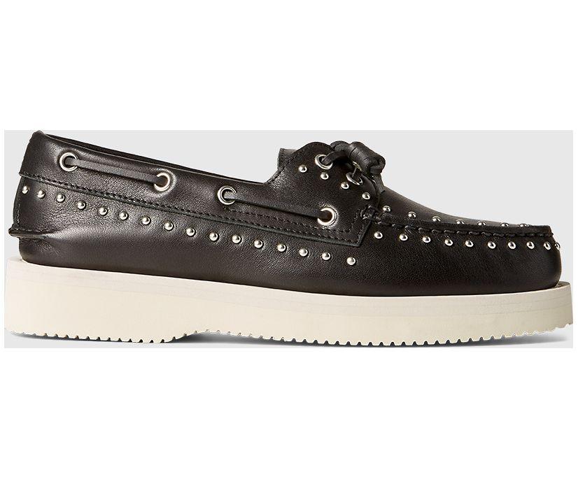 Sperry x Rebecca Minkoff Authentic Original Studs Boat Shoe, Black, dynamic