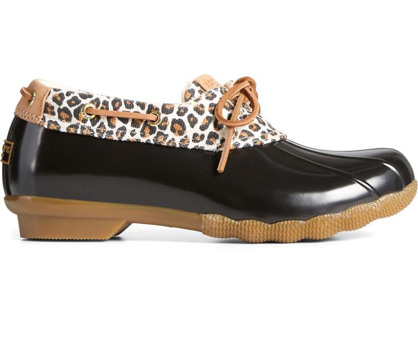 Saltwater Cheetah 1-Eye Duck Boot, Tan, dynamic