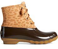 Saltwater Cheetah Duck Boot, Tan, dynamic