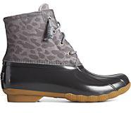 Saltwater Cheetah Duck Boot, Grey, dynamic