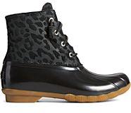 Saltwater Cheetah Duck Boot, Black, dynamic
