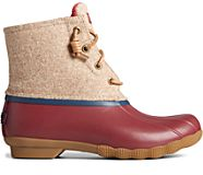 Saltwater Wool Duck Boot, Tan, dynamic